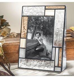 4 x6 ivory, peach, florentine verticle frame pic 453-46v