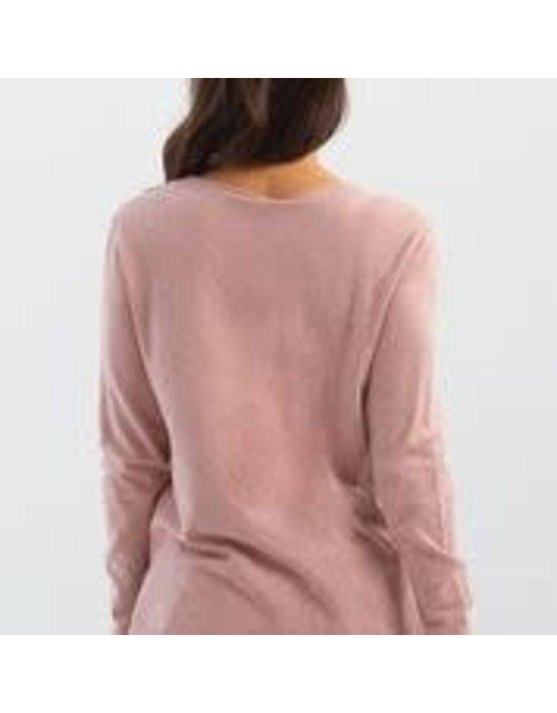 CHARLIE B Quartz V-neck sweater