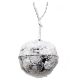 "Snowy jingle bell 2.75"" orn r6631"