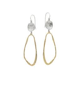 WAXING POETIC Dream traveler earrings ss/br dvtlr11ms