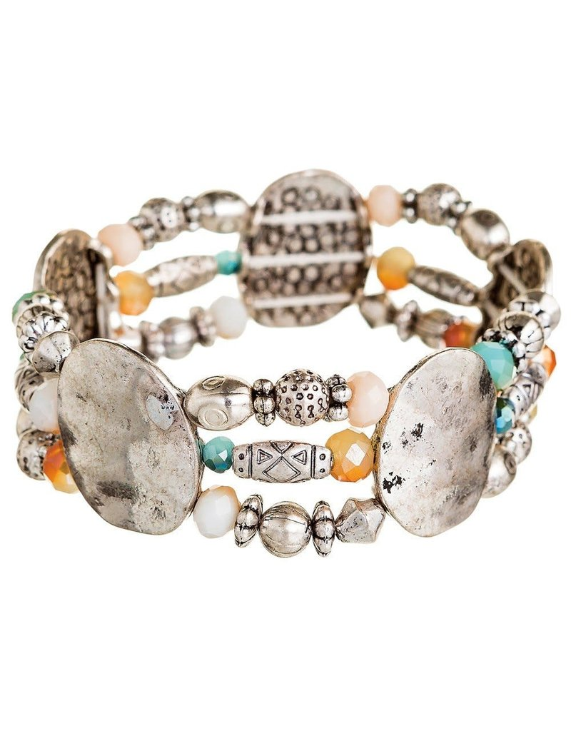 none Ovals Multi Bracelet B1086S