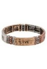 none Faith Love Hope Multi Bracelet B129M