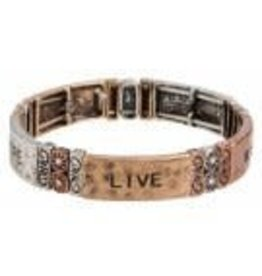 none Faith Love Hope Multi Bracelet B129M