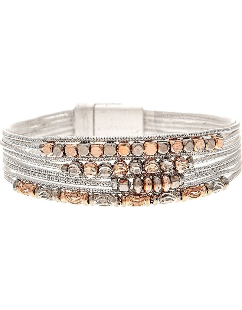 none Baby Bead Chain 9 Row Bracelet B1803M