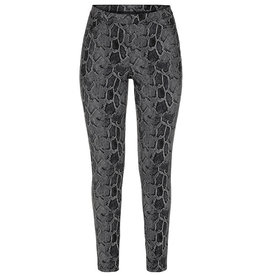 Tribal Pull on legging - steel grey