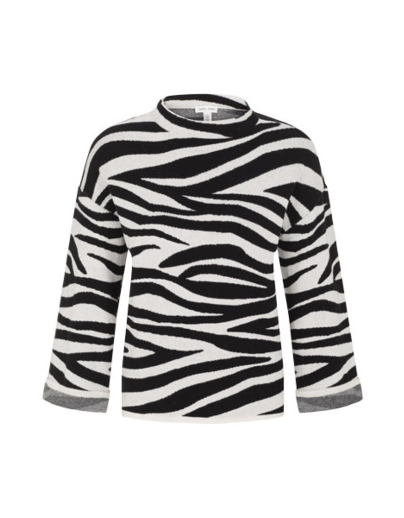 Tribal Bone mock-neck sweater 67620
