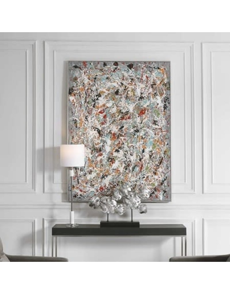 UTTERMOST Organized Chaos Hand Printed Canvas 34379