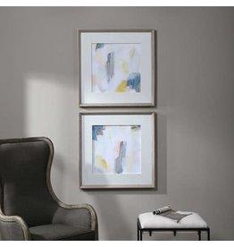 UTTERMOST Fractal Pastel Framed Print (Individual) 41623
