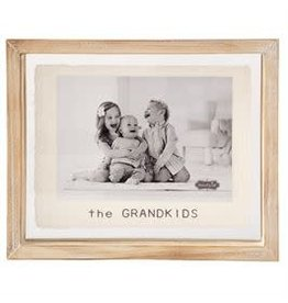 """The Grandkids Glass Picture Frame 5""""x7"""" 46900364"""