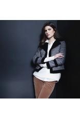 Renuar Black plaid jacket r3721