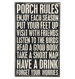 none 23738 PORCH RULES