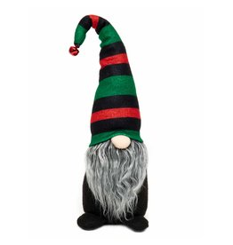 "Striped hat gnome 15.5"" r8086"