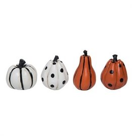 Mini Patterned pumpkin h8723