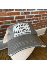Love your story hat