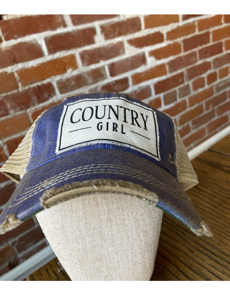 Country girl hat