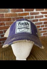 Faith can move mountains  hat