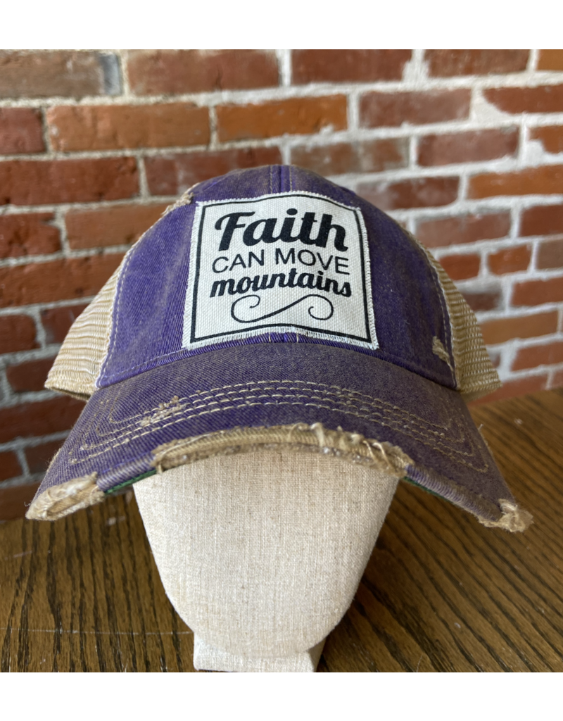 Faith can move mountains  hat