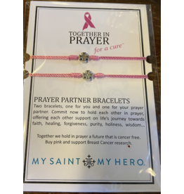 MY SAINT MY HERO Together in prayer for a cure prayer partner bracelet
