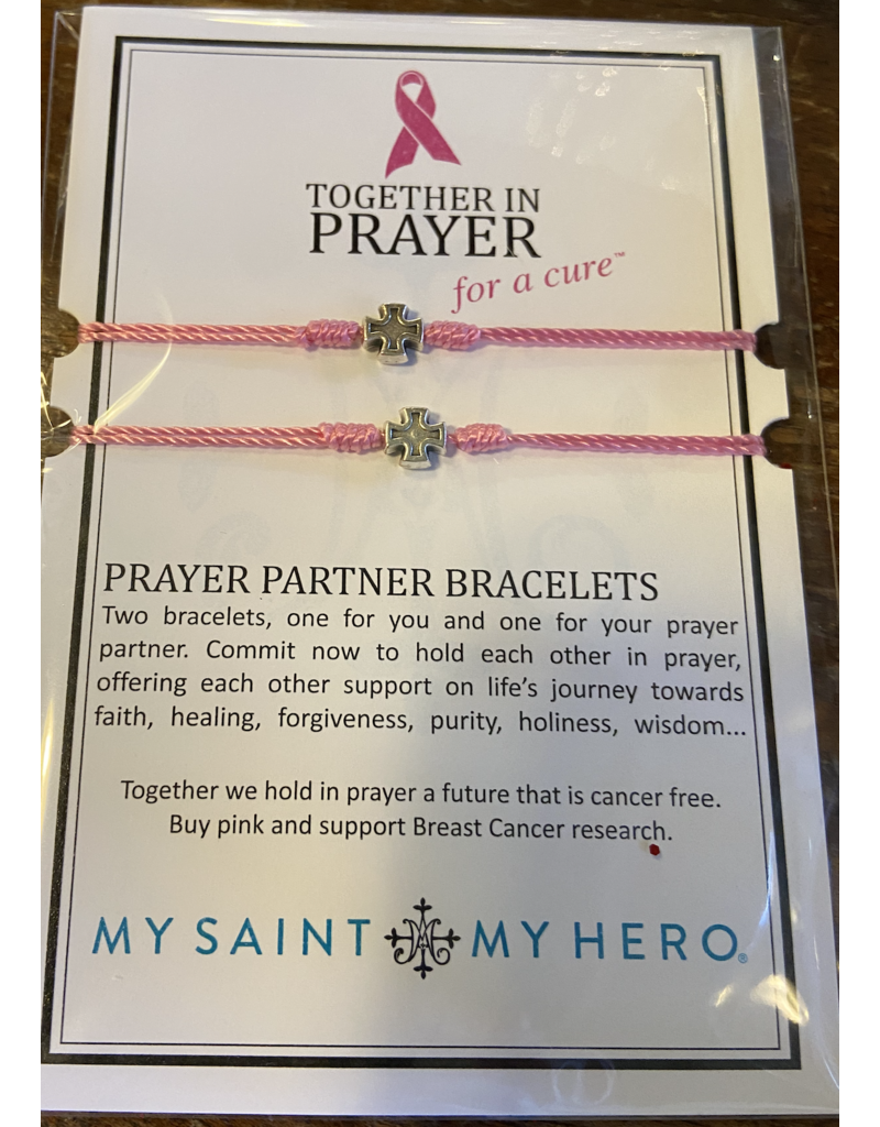 MY SAINT MY HERO Together in prayer for a cure prayer partner bracelet