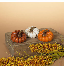 "Resin Harvest Pumpkin 3.15"" 2551670"