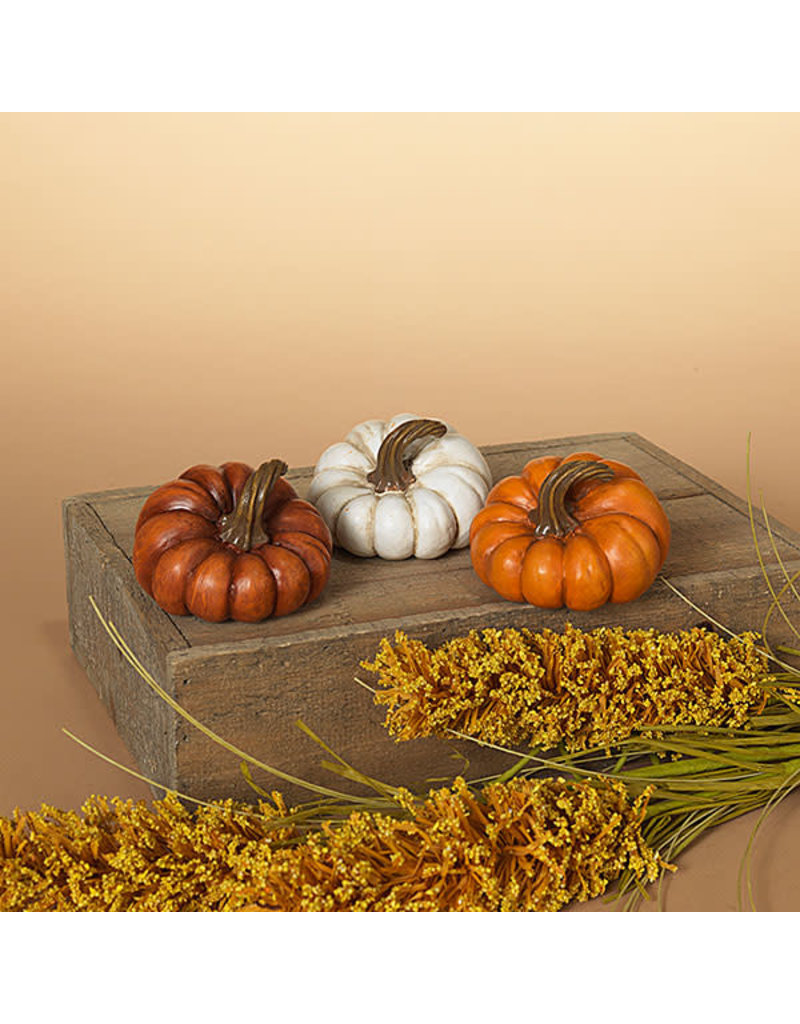 "Resin Harvest Pumpkin 3.15"" 2551670"
