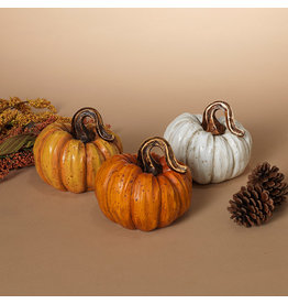 "Resin Harvest Pumpkin 4.7"" 2484350"
