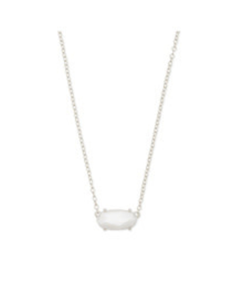KENDRA SCOTT Ever necklace rhod white mop 4217717438