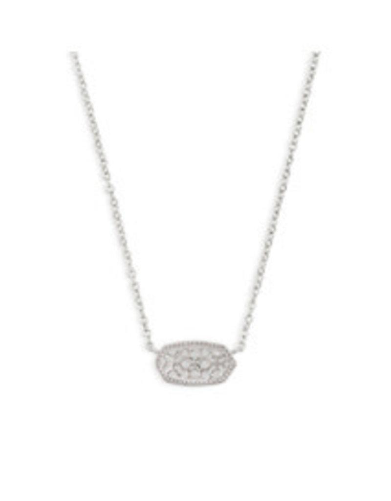 Jacqueline Kent Elisa necklace rhod filigree metal 4217714666