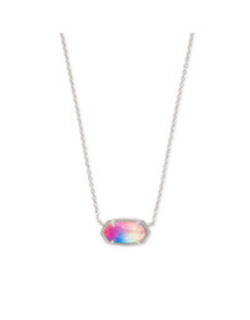 KENDRA SCOTT Elisa necklace rhod watercolor illusion 4217717835