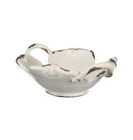 Cream handled bowl cm2295