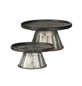 """10"""" round pedestal stand"""