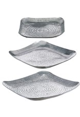 Silver square tray