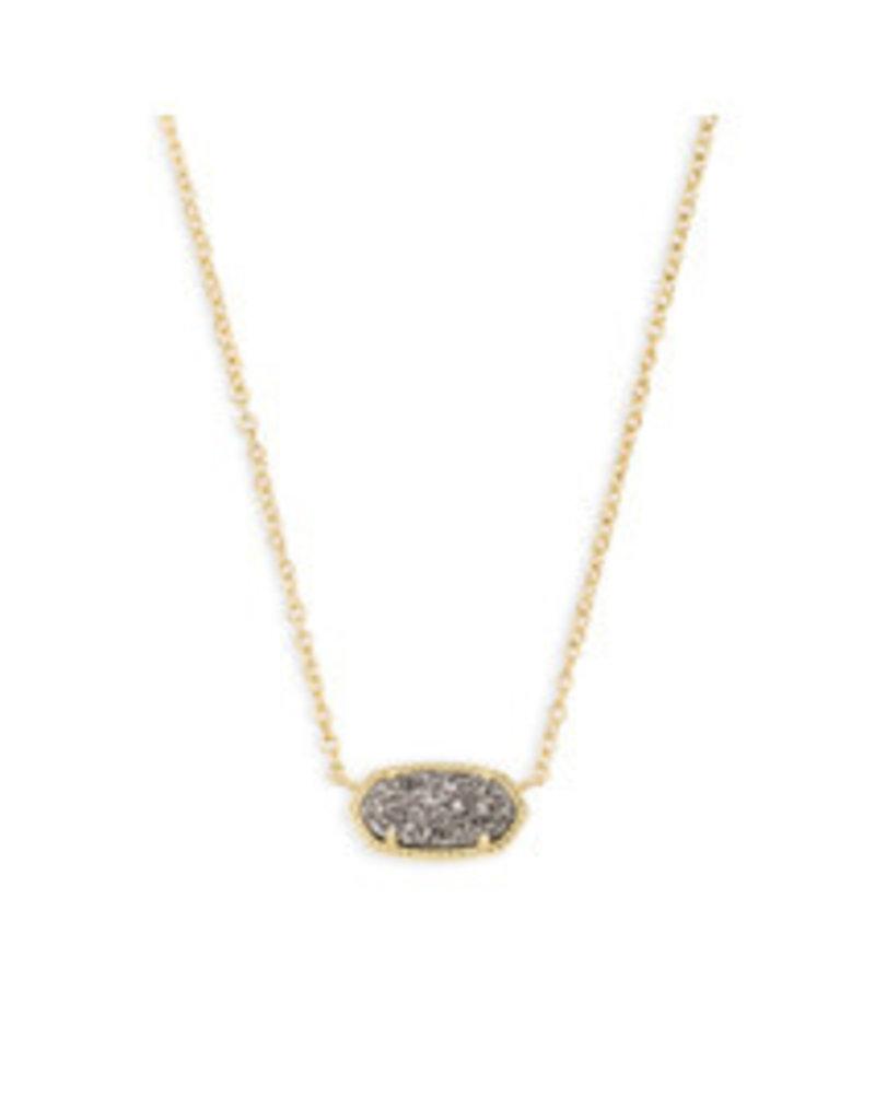 KENDRA SCOTT Elisa necklace gold platinum drusy 4217710682
