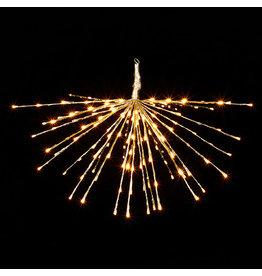 """Champagne Starburst with150 Warm Lights (No remote) 23""""l4037008"""