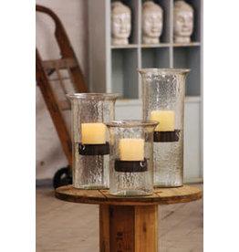 "none Glass candle 19"" CV410L"