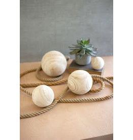 wooden sphere cfan1044