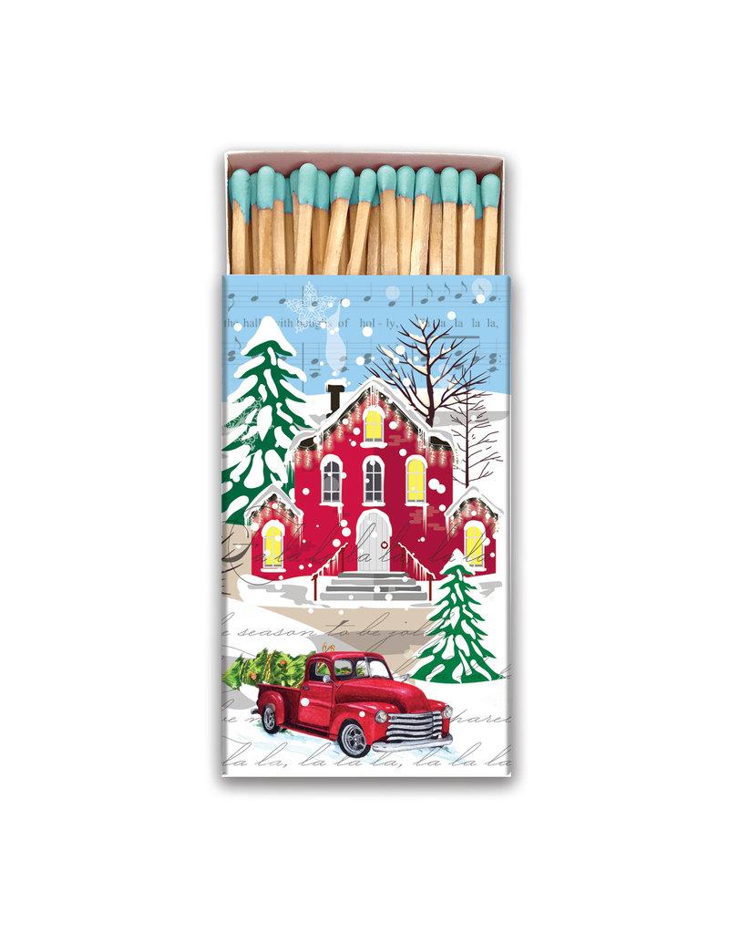 Christmas Snow Matchbox MAT111