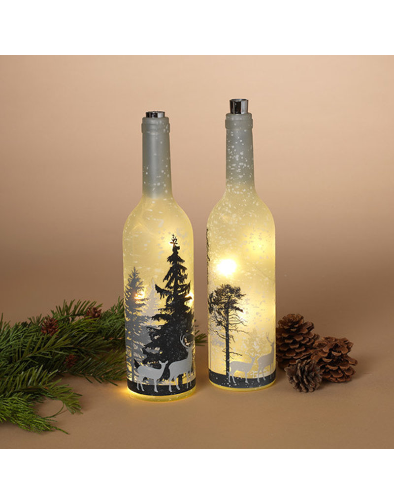 """Battery Operated Lighted Forest Scene 12.5""""H 2496020"""