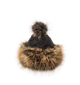 Villagehouse Cossack hat - black 10031-7