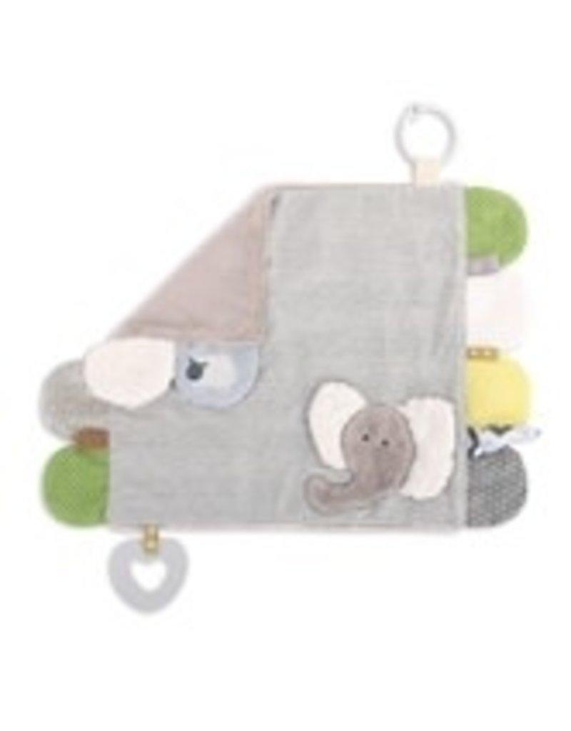 Activity blankie elephant