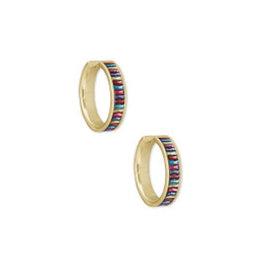 KENDRA SCOTT Jack Huggie earring gold jewel tone mix 4217704844