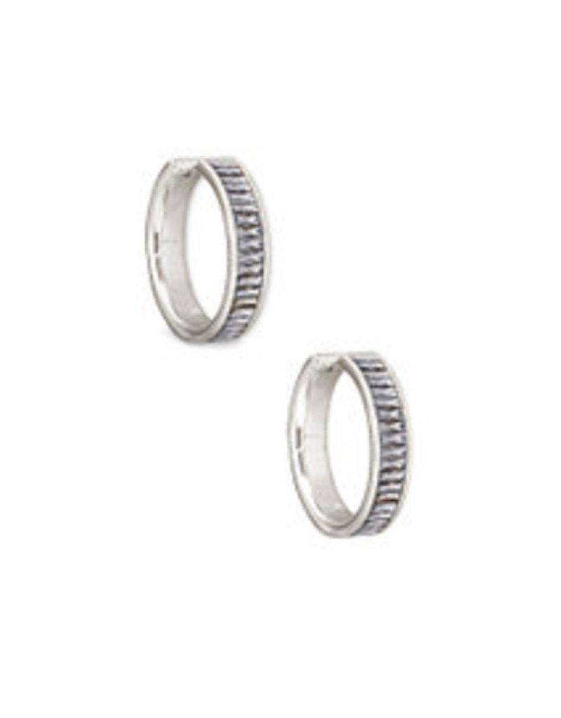 KENDRA SCOTT Jack hoop earrings gold clear crystal 4217704647