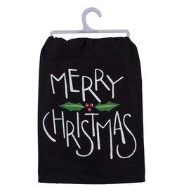 Merry Christmas dish towel 39756