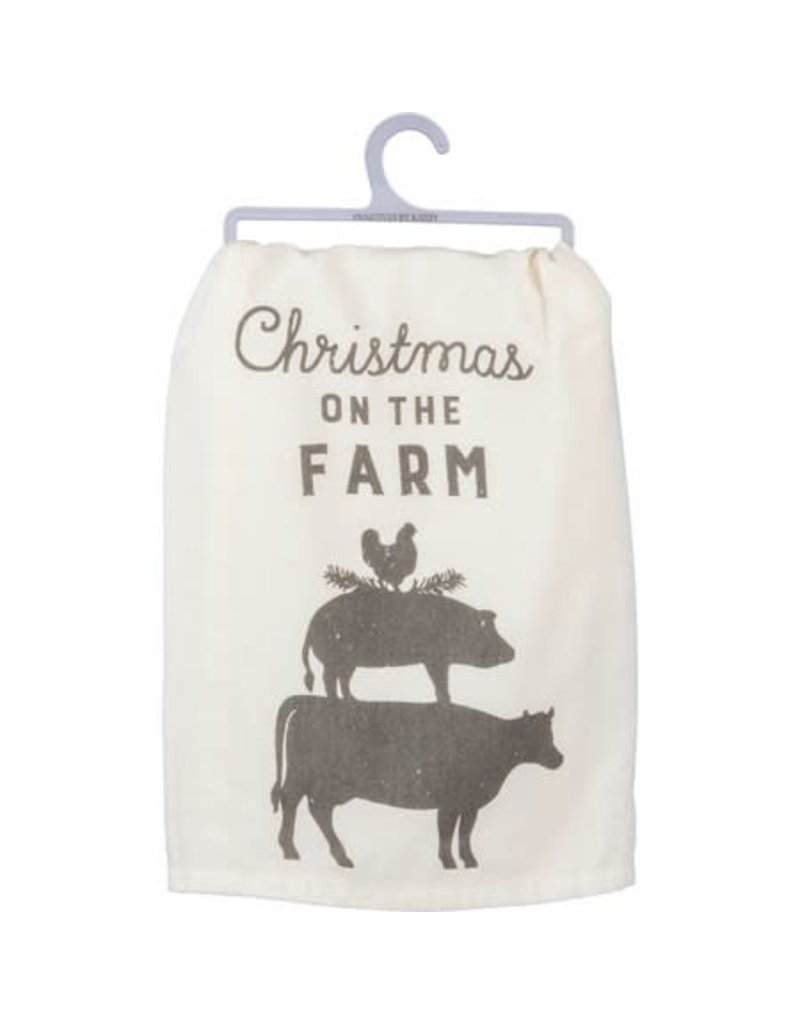 On the farm dish towel 39921
