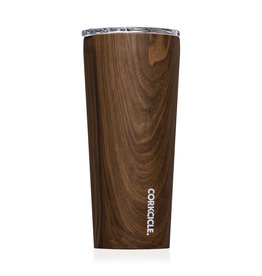 cork 24 oz walnut wood tumbler