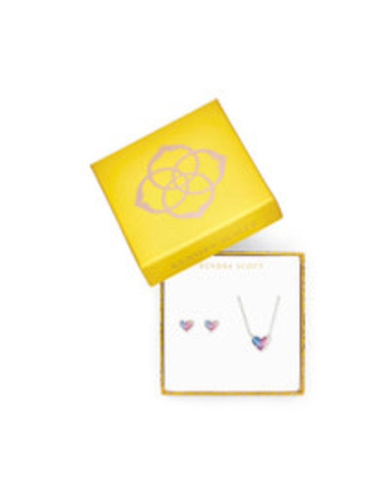 KENDRA SCOTT Gift set ari eart pendant stud rod watercolor illusion 4217717865