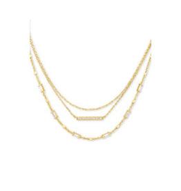 KENDRA SCOTT Addison multi strand necklace gold metal 4217717790