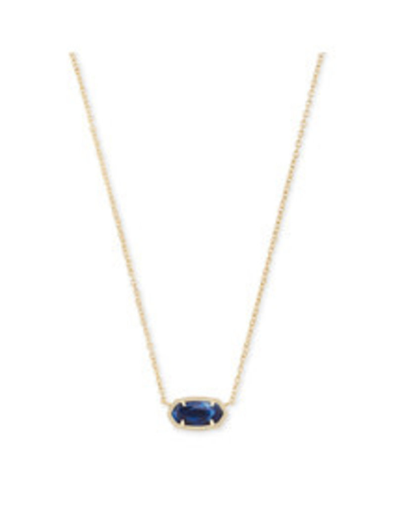 KENDRA SCOTT Elisa Pendant Necklace gold cobalt 4217708467