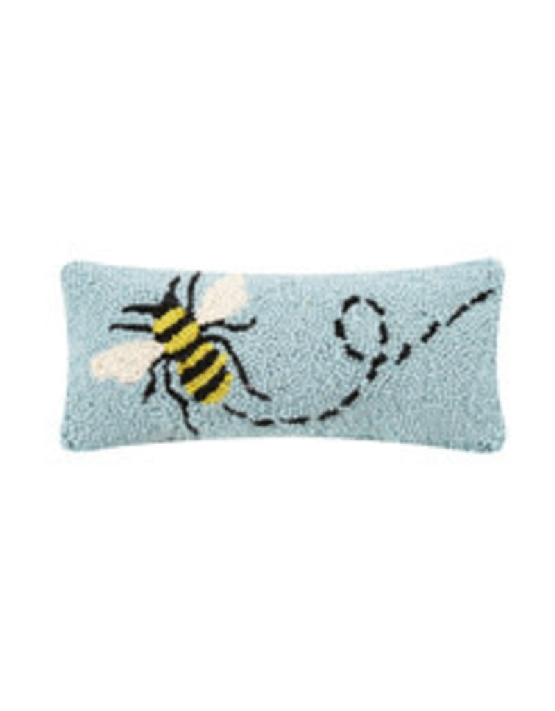 """Bee hooked pillow 12x5"""" 30tg444c050b"""
