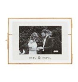 Wedding glass frame 4x6 46900411